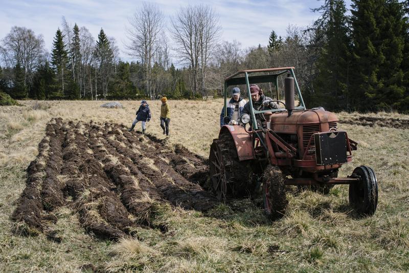 Intresset för odling och råvaruproduktion tog snabbt fart. Foto: Alexandra Ellis